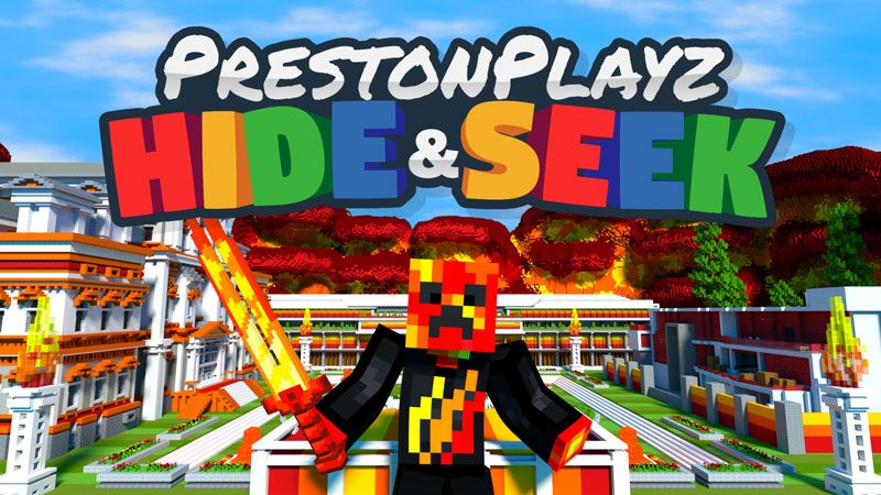 PrestonPlayz Hide and Seek on the Minecraft Marketplace by Meatball Inc
