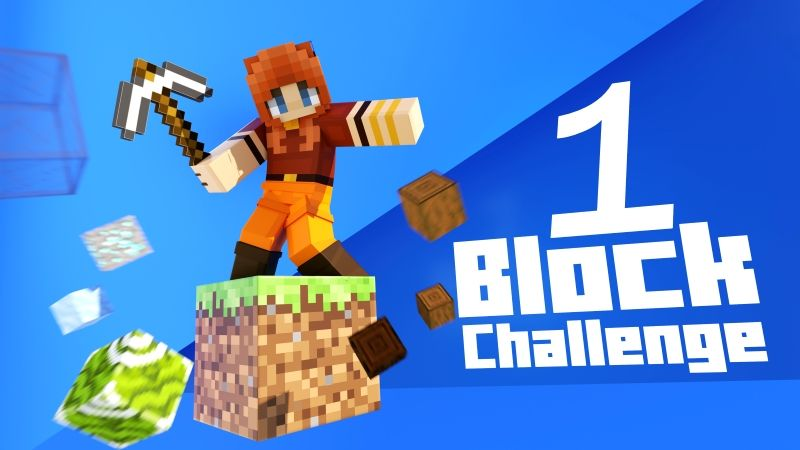 1 Block Challenge on the Minecraft Marketplace by Cubed Creations