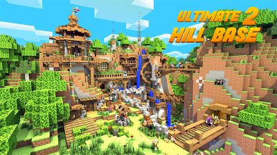 Ultimate Hill Base 2 on the Minecraft Marketplace by Glowfischdesigns