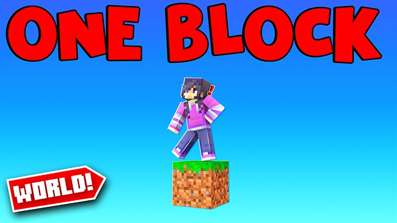 One Block World on the Minecraft Marketplace by Pickaxe Studios