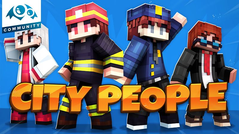 City People on the Minecraft Marketplace by Monster Egg Studios