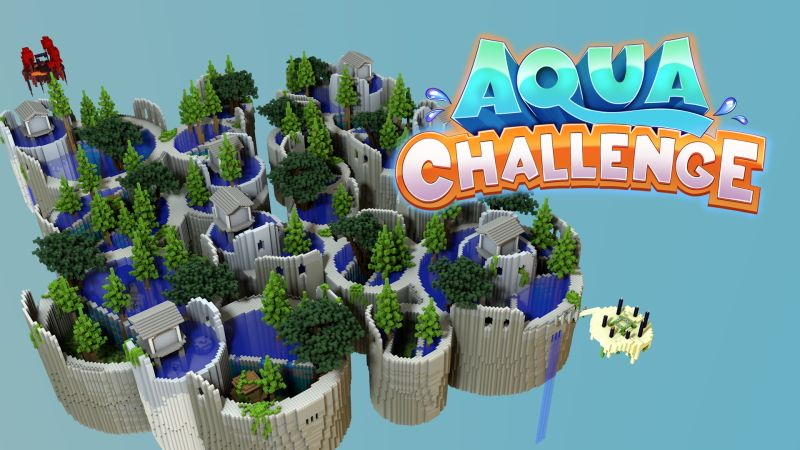 Aqua Challenge on the Minecraft Marketplace by FTB