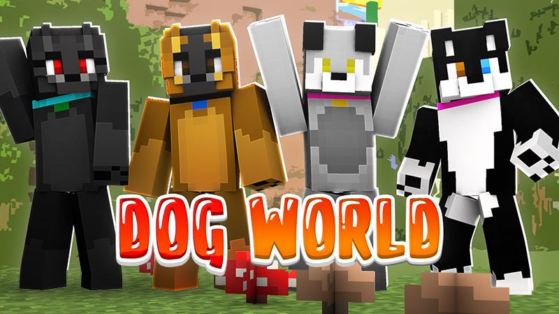 Dog World on the Minecraft Marketplace by Sapphire Studios