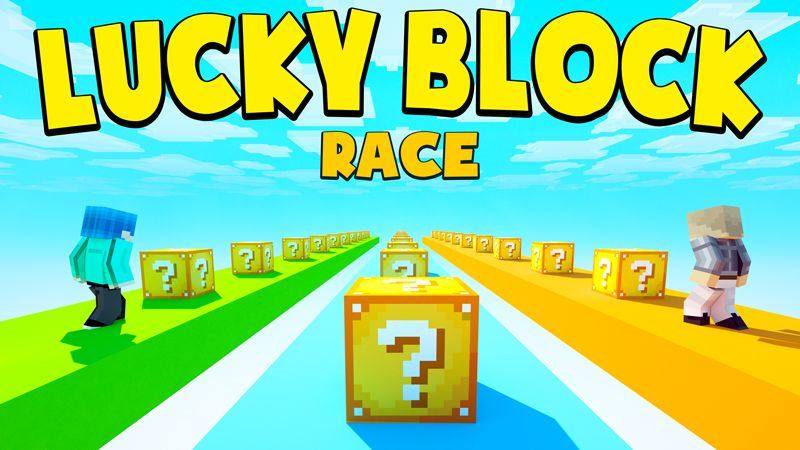 LUCKY BLOCK RACE on the Minecraft Marketplace by Chunklabs