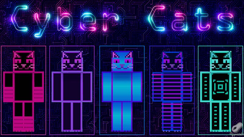 Cyber Cats on the Minecraft Marketplace by Appacado