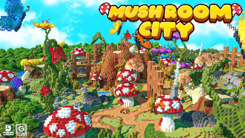 Mushroom City on the Minecraft Marketplace by Gearblocks