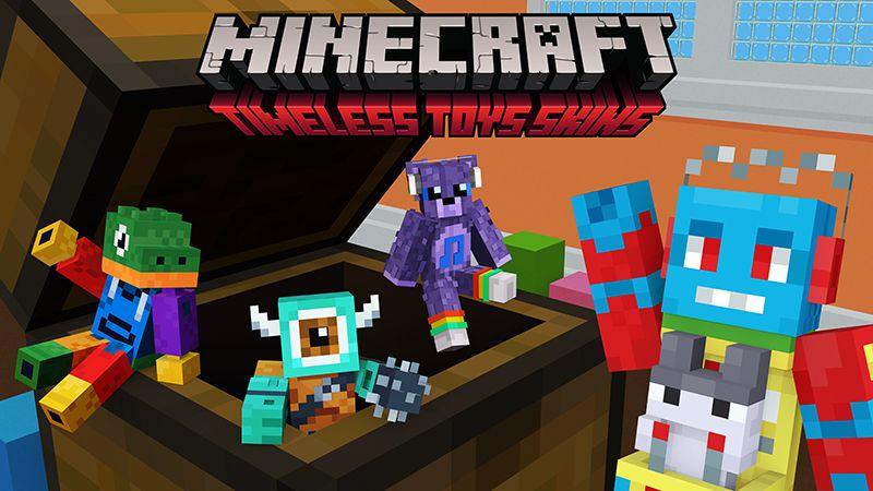 Timeless Toys Skins on the Minecraft Marketplace by Minecraft