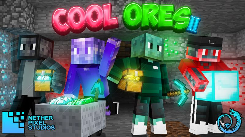 Cool Ores II on the Minecraft Marketplace by Netherpixel