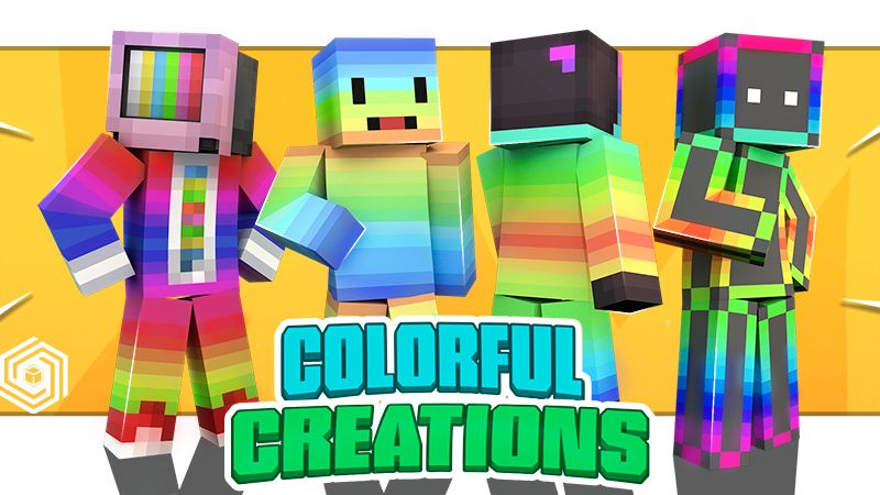 Colorful Creations on the Minecraft Marketplace by UnderBlocks Studios
