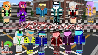 Racers on the Minecraft Marketplace by Sova Knights