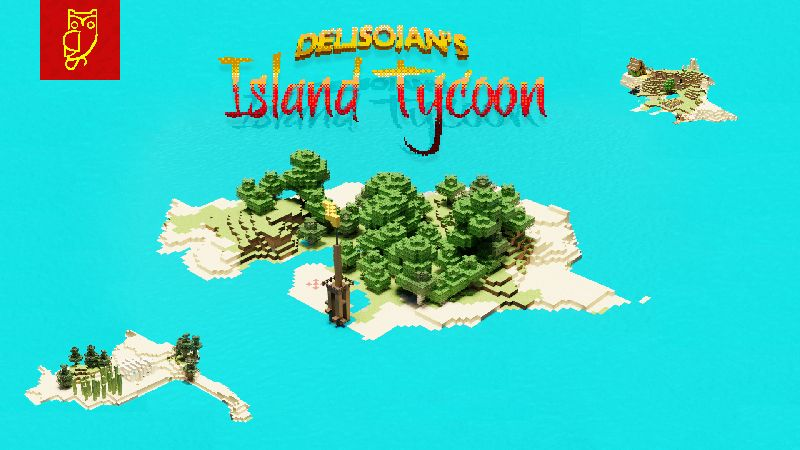 DelisoJans Island Tycoon on the Minecraft Marketplace by Netherpixel