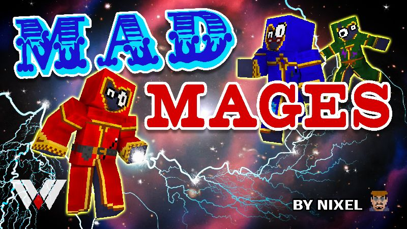 Mad Mages on the Minecraft Marketplace by Wandering Wizards