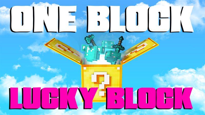 ONE BLOCK LUCKY BLOCK on the Minecraft Marketplace by 4KS Studios