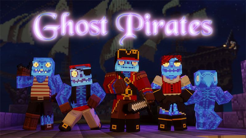 Ghost Pirates on the Minecraft Marketplace by Dig Down Studios