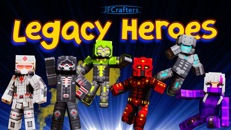 Legacy Heroes on the Minecraft Marketplace by JFCrafters