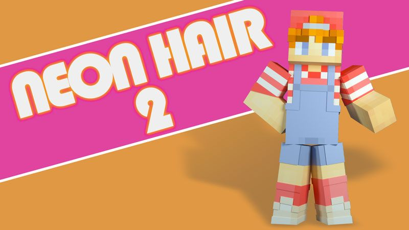 Neon Hair 2 on the Minecraft Marketplace by Blockception