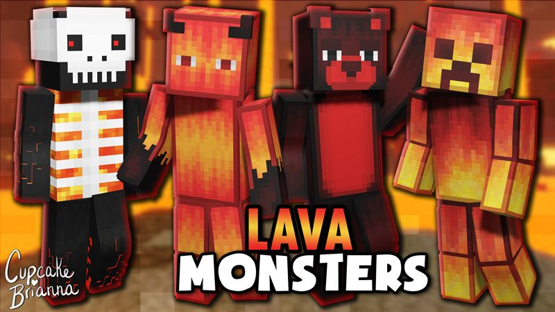 Lava Monsters HD Skin Pack on the Minecraft Marketplace by CupcakeBrianna