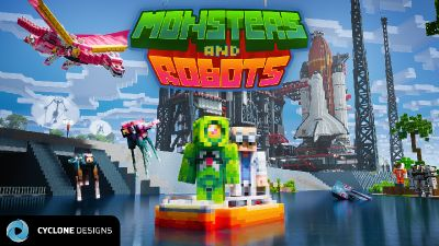 Monsters and Robots MashUp on the Minecraft Marketplace by Cyclone