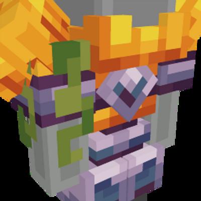 Pumpkin Golem on the Minecraft Marketplace by Entity Builds
