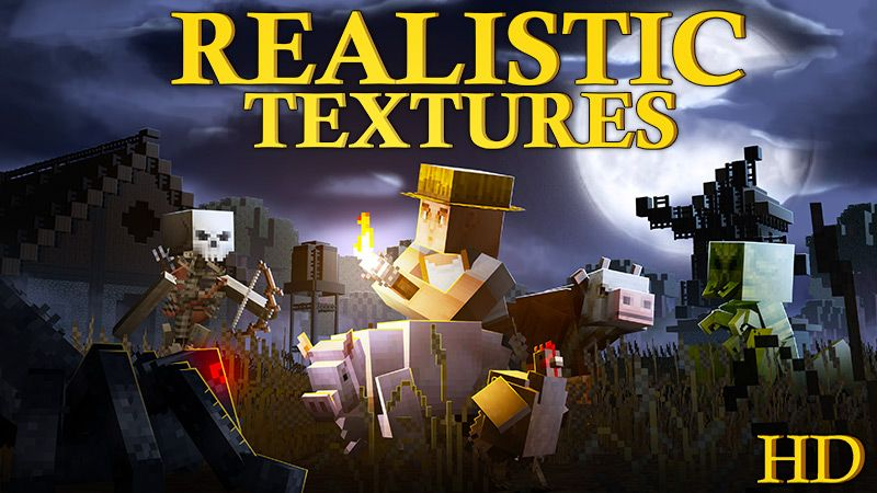 Realistic Textures HD on the Minecraft Marketplace by Square Dreams