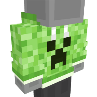 Creeper Hoodie on the Minecraft Marketplace by Mob Pie