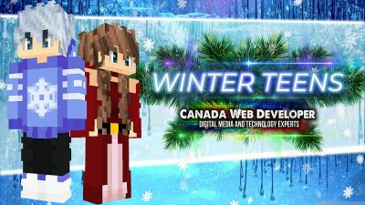 Winter Teens on the Minecraft Marketplace by CanadaWebDeveloper