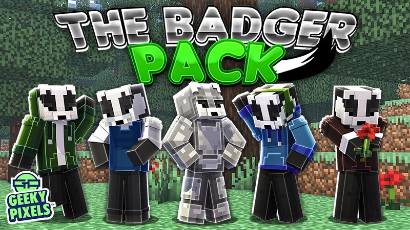 The Badger Pack on the Minecraft Marketplace by Geeky Pixels