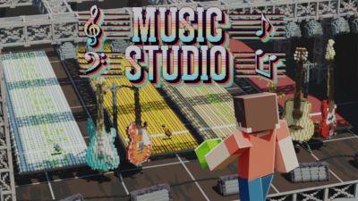 Music Studio on the Minecraft Marketplace by MelonBP