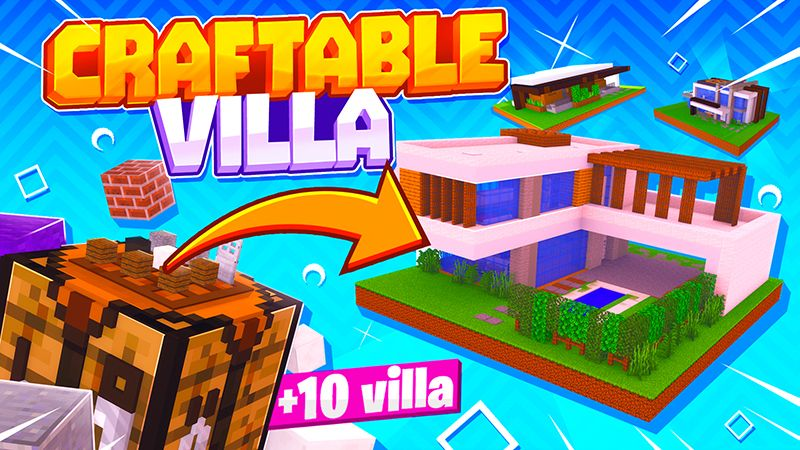 Craftable Villa on the Minecraft Marketplace by Mine-North