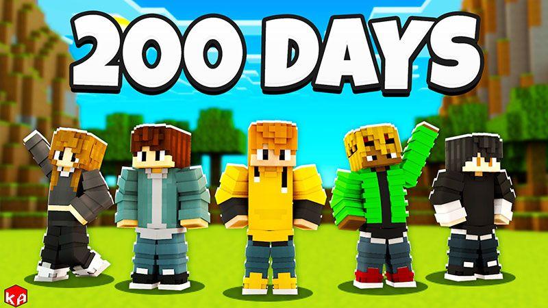 200 Days Survivors on the Minecraft Marketplace by KA Studios