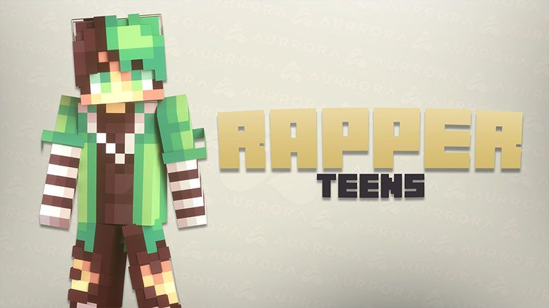 Rapper Teens on the Minecraft Marketplace by Aurrora Skins
