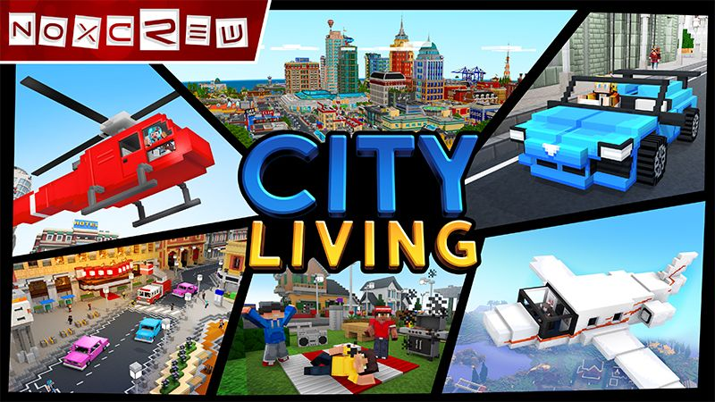 City Living on the Minecraft Marketplace by Noxcrew