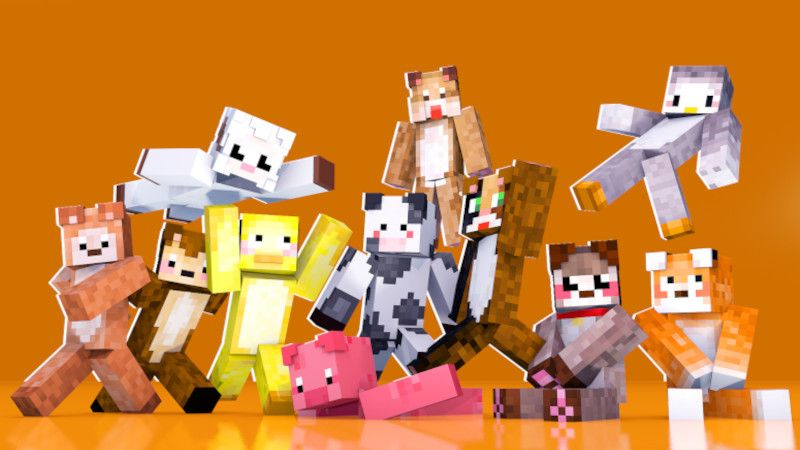 Animals on the Minecraft Marketplace by DogHouse