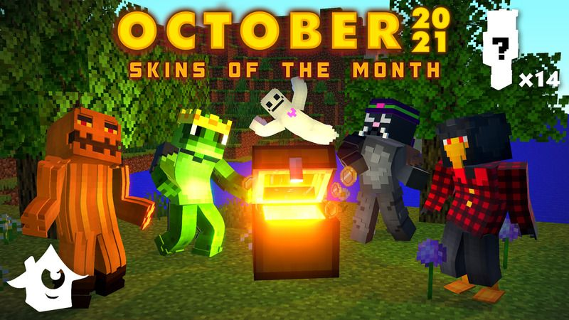October Skins 2021 on the Minecraft Marketplace by House of How