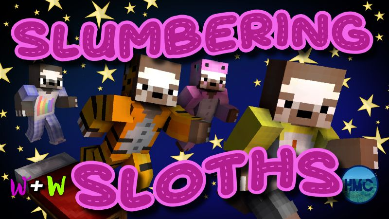 Slumbering Sloths on the Minecraft Marketplace by The Wizard and Wyld