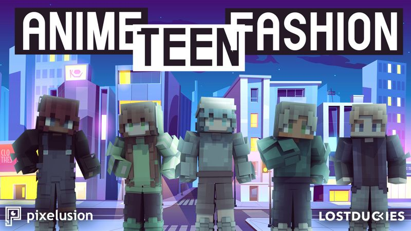 Anime Teen Fashion on the Minecraft Marketplace by Pixelusion