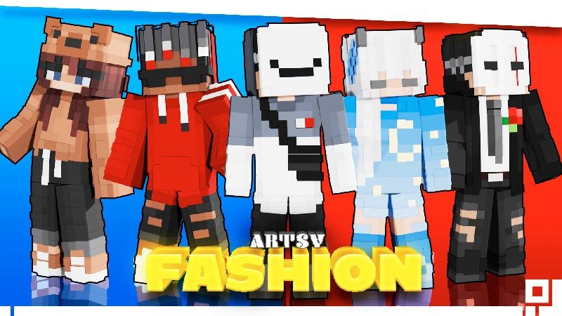 Artsy Fashion on the Minecraft Marketplace by inPixel