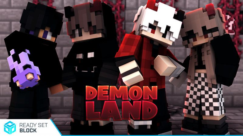 Demonland on the Minecraft Marketplace by Ready, Set, Block!