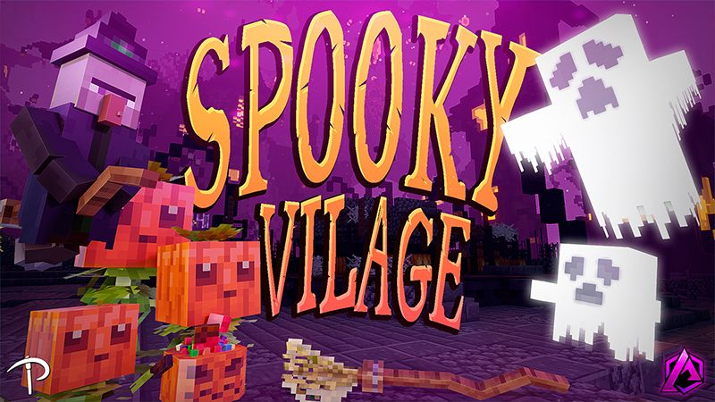 Spooky Village on the Minecraft Marketplace by Pickaxe Studios