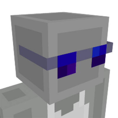 Blue Shades Face on the Minecraft Marketplace by Syclone Studios