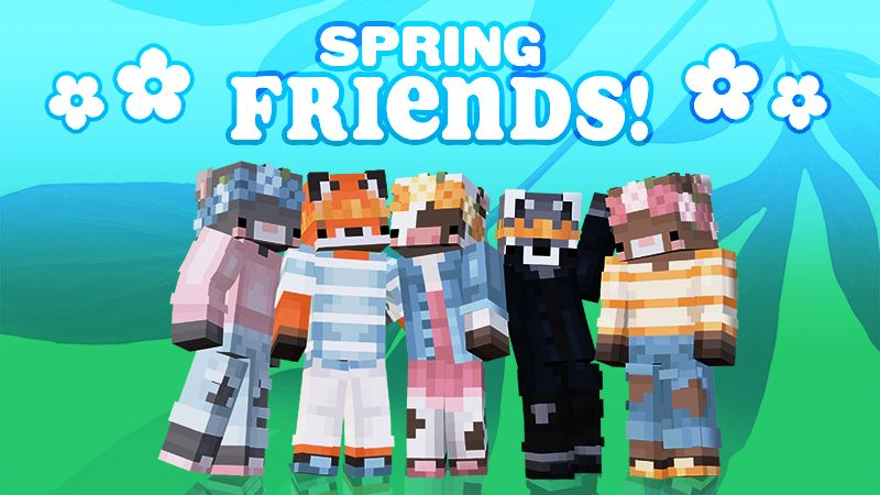 Spring Friends on the Minecraft Marketplace by Tetrascape