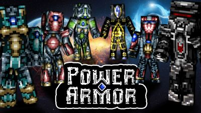 Power Armor on the Minecraft Marketplace by Dragnoz