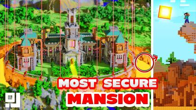 Most Secure Mansion on the Minecraft Marketplace by inPixel