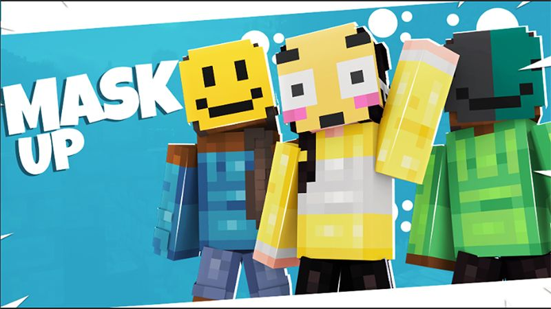 MASK UP on the Minecraft Marketplace by ChewMingo