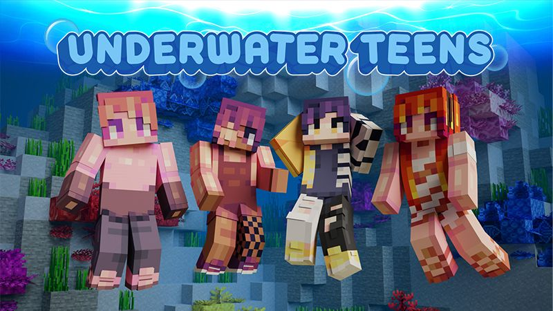 Underwater Teens on the Minecraft Marketplace by FTB