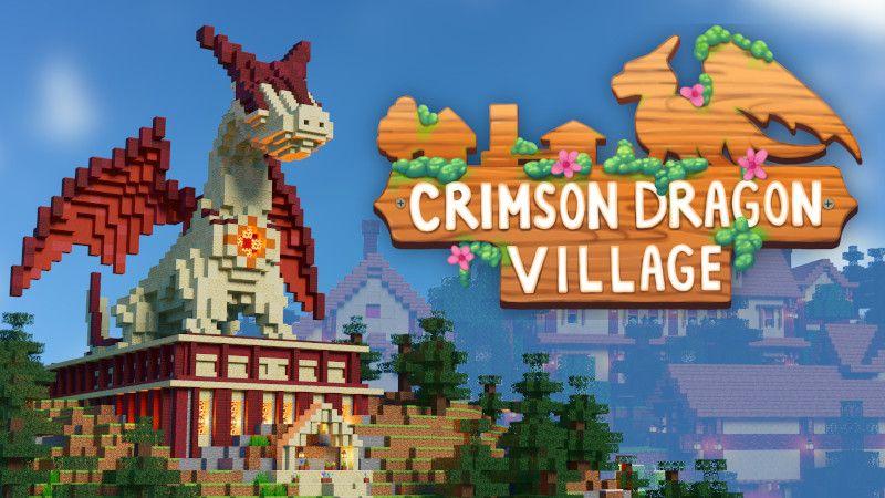 Crimson Dragon Village on the Minecraft Marketplace by BTWN Creations