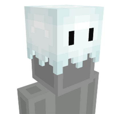 Ghost Hat on the Minecraft Marketplace by Blu Shutter Bug