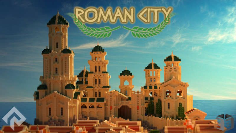 Roman City on the Minecraft Marketplace by RareLoot