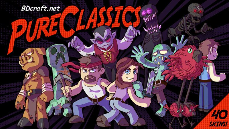 Pure Classics Skins on the Minecraft Marketplace by BDcraft