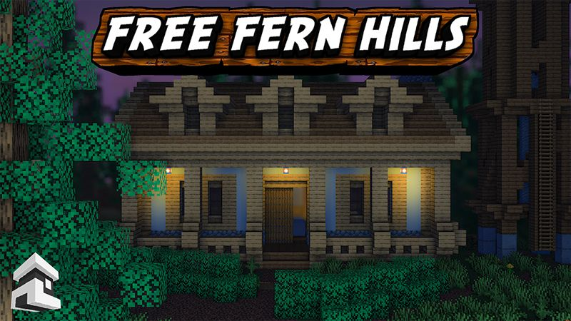 Free Fern Hills on the Minecraft Marketplace by Project Moonboot